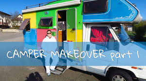 camper makeover part i fiat ducato february 2017 youtube