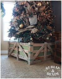 burlap christmas tree how to decorate a christmas tree burlap denimburlap denim