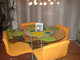 Lime Green Dining Room Decorations Placemats For Round Table For Awesome Dining