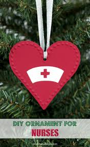 christmas ornament for nurses simply kelly designs