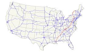 Usa Highway Map U S Route 11 Wikipedia