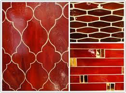 Red Tile Backsplash - red backsplash tile remarkable 9 red and black glass tile kitchen