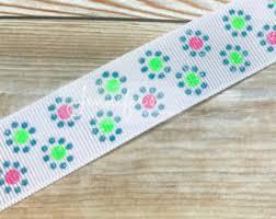 hair bow supplies 3 yards watermelon grosgrain printed ribbon 7 8 grosgrain