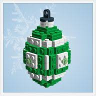 lego ornaments guide and parts list for each