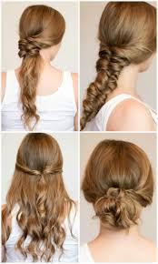 heatless hairstyles for thin hair easy heatless hairstyles for long hair ashley brooke nicholas
