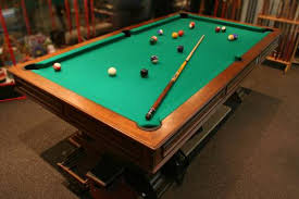 Elliptical Pool Table Assembly U0026 Installation Company In Washington Dc Maryland And Va