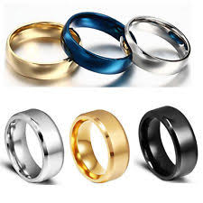 Mens Titanium Wedding Rings by Mens Titanium Wedding Bands Ebay