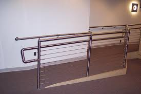 Stainless Steel Banister Handicap Railing Stainless Steel Handrails