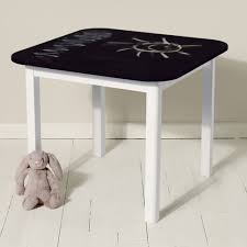 kids table blackboard table design your own table draw on table