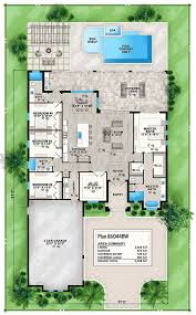 floor master house plans best 25 house plans with pool ideas on sims 3 houses