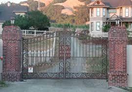 custom steel and wrought iron gates