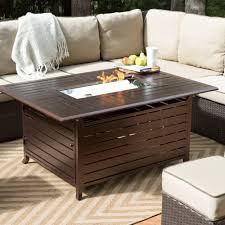 Modern Outdoor Gas Fireplace by Rectangle Outdoor Gas Fire Pit Table Provides 42000 Btus Of Output