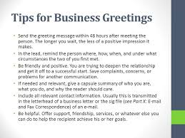 Business Letter Generic Recipient Networking Business Letters Ppt Download