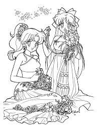 sailormoon coloring pages coloring pages pinterest flower