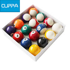 pool table accessories cheap high quality cuppa pool table billiard balls set 52mm 57mm snooker