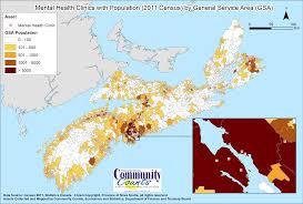 Nova Scotia Canada Map by Nova Scotia Department Of Finance Statistics