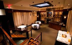 contemporary american fine dining restaurant interior design of