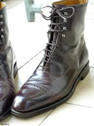 s quarter boots carmina balmoral boots in cordovan the haberdashery and