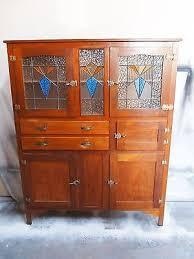 leadlight kitchen cabinets vintage retro deco leadlight kitchen dresser cabinet
