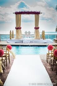 cheap wedding venues in miami suhaag garden indian destination wedding miami fabric mandap
