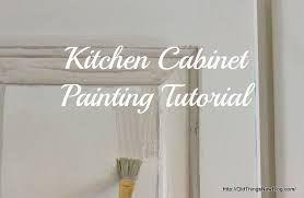 old things new u2013 painting and waxing kitchen cabinets u2013 a tutorial