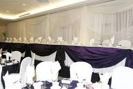 wedding backdrop ottawa wedding backdrop and table done at algonquin college