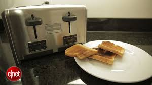 Best Buy Toasters 4 Slice Frigidaire Professional 4 Slice Wide Slots Toaster Review Cnet