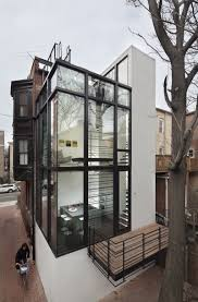 row house design decor barcode house design by david jameson architect modern