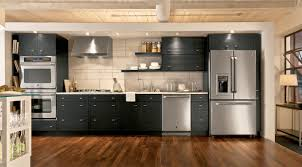 Kitchen Appliance Cabinets by Slate Vs Stainless Steel Kitchen Design Blog