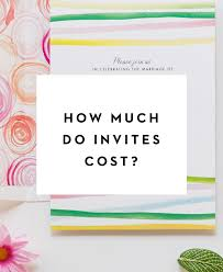 how much do wedding invitations cost when to send wedding invitations day press