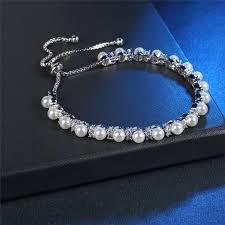 bracelet luxury charms images Roxi charm pearl beads bracelets bangles for women luxury white jpeg
