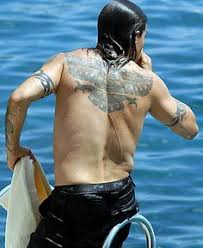 native american thunderbird tattoo anthony kiedis tattoos