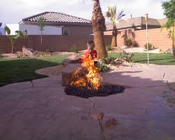 Cool Firepit Gas Piping Gas Tiki Torches Salt Lake Provo St George Utah
