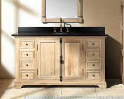 Rustic Bathroom Vanities For A Casual Country Style Bathroom - Bathroom vanities solid wood construction