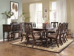 Dining Room Ashley Furniture North Shore Dining Room Set Oak - Ashley dining room chairs