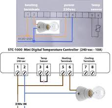 wiring up a light to a thermostat doityourself com community