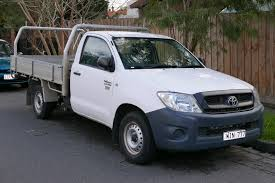 lexus truck 2009 file 2009 toyota hilux tgn16r my09 workmate 2 door cab chassis