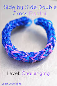 double cross bracelet images How to make a side by side double cross fishtail jpg