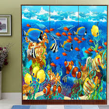 aliexpress com buy yazi hd print customized size seaworld tv aliexpress com buy yazi hd print customized size seaworld tv background wallpaper wall sticker mural decal window door glass film from reliable sticker
