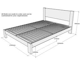 California King Size Bed Frames by Bed Frame Stunning Dimensions Of A King Size Bed Frame