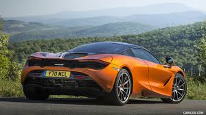 orange mclaren rear 2018 mclaren 720s color azores orange rear hd wallpaper 61