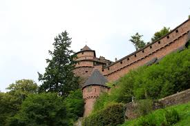 the perfect medieval castle in france to visit worldthruoureyes to reach the castle you drive through the rhine river valley which is very flat with farm lands and vineyards the valley is bordered on its western edge