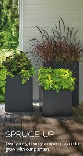 modern outdoor planters modern outdoor furniture room u0026 board