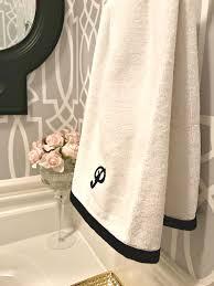 Powder Room Towels - powder room update week 4 a purdy little house