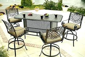 patio table and chair covers bar height patio table medium size of bar height outdoor table and