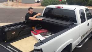 Chevy Silverado 1500 Truck Bed Covers - bakflip mx4 truck bed cover review on chevy silverado youtube