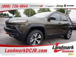 jeep cherokee green 2015 2015 eco green pearl jeep cherokee trailhawk 4x4 104645201