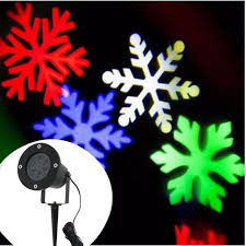 merry lights outdoor led snowflake projector light