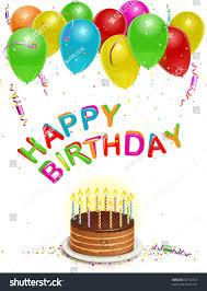 birthday card background vector illustration custom stock vector
