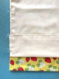 How To Sew Curtains With Rings Learn How To Sew Lined Curtains Step By Step On Craftsy